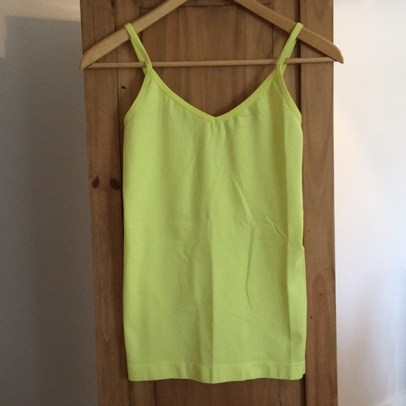 Jersey By Jacob Neon Yellow Cami
